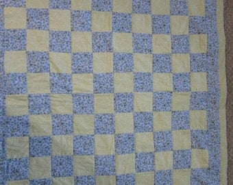 Handmade quilt for young boy or girl