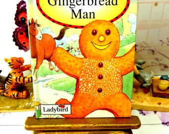The Gingerbread Man Vintage LadyBird Book Glossy Cover Favourite Tales Lovely illustrations Cheeky Fox
