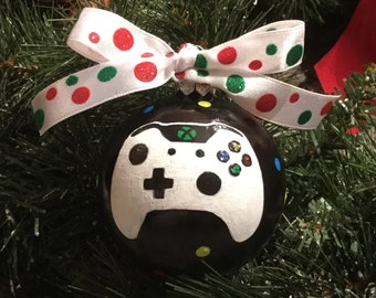 Personalized Game Controller Christmas Ornament - Xbox One Controller Ornament
