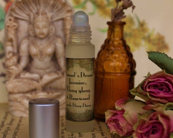 Nomads Dream, Jasmine and ylang ylang  Roll on Perfume, Oil