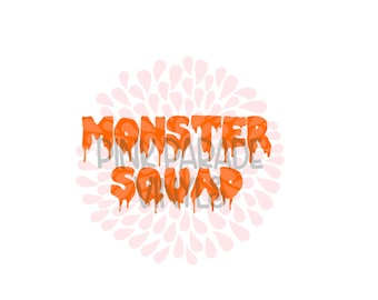 Monster Squad Halloween Cute SVG Cuttable Design File