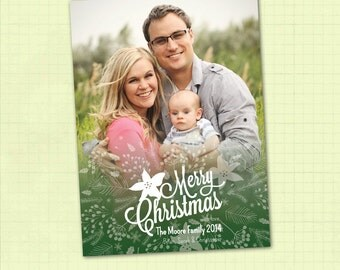 Photo Christmas Card / Photo Holiday Card / Digital Christmas Card / Digital Holiday Card