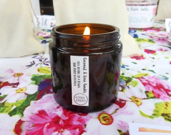 Beeswax & Soy Candle COCONUT LIME