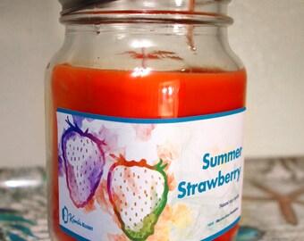Kami's Kandle - Summer Strawberry - 16oz