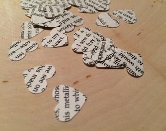 Edgar Allan Poe Heart Confetti - 100 pk - Literature Confetti