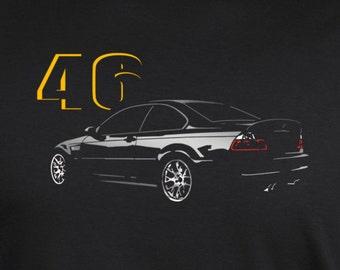 E46 t-shirt drift m3 318 320 323 325 330 grachic design tshirt + longsleeve + hoodie S - 5XL