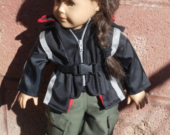 Katniss Everdeen First Games Outfit for 18'' Doll or American Girl Doll