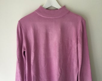 90's Pink sweater.