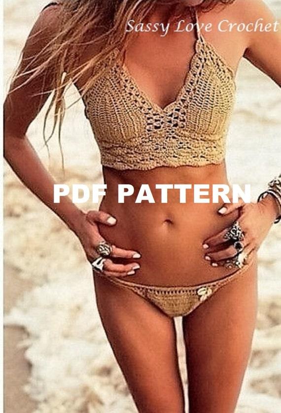 Crochet bikini top pattern fucks doctor