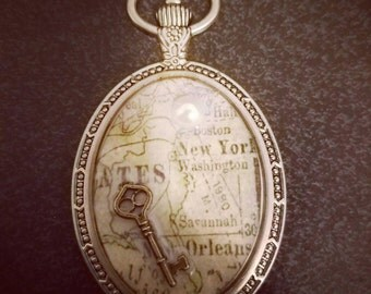 The Key to NYC Pendant