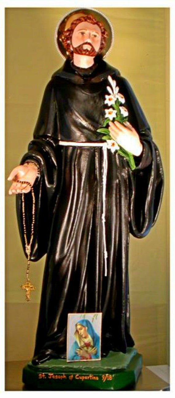 "St. Joseph of Cupertino 26"" Catholic Christian Saints Religious Plaster Statue"