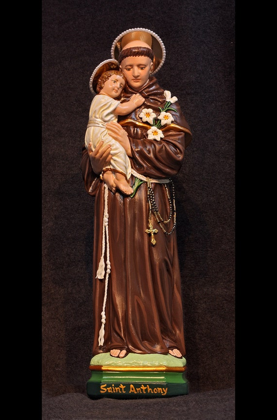 "St. Anthony of Padua 18"" Catholic Christian Franciscan Religious Statue"