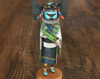 native american,native,native american art,hopi kachina,native american kachina,kachina,navajo kachina, Native American Crow Mother Kachina