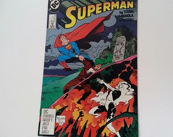 Vintage Superman (2nd series) issue #23 1988 DC comic book