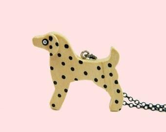 Dalmatian dog Necklace/ dog necklace/ Dog Breed
