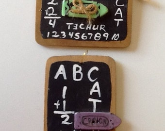 Wooden Signage for Teacher