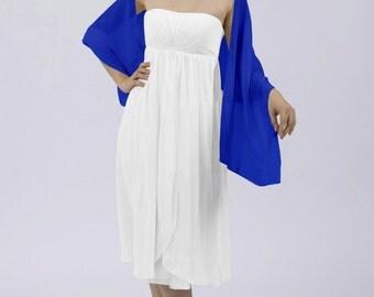 Matchimony Royal Blue Shawl