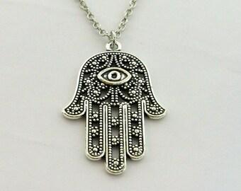 Hamsa - Evil Eye Necklace