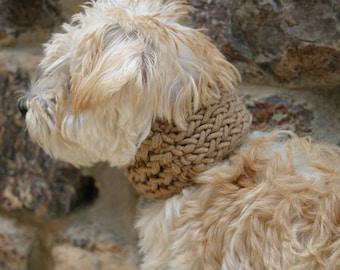 Sir Waggington Loom Knit Dog Cowl