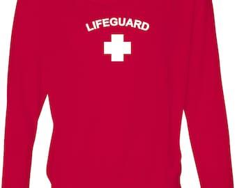 Lifeguard Ladies Off Shoulder Tee T-Shirt LIFEGUARD-8850