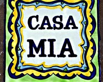 Color Photographs, Casa Mia, Isle of Capri, Italy