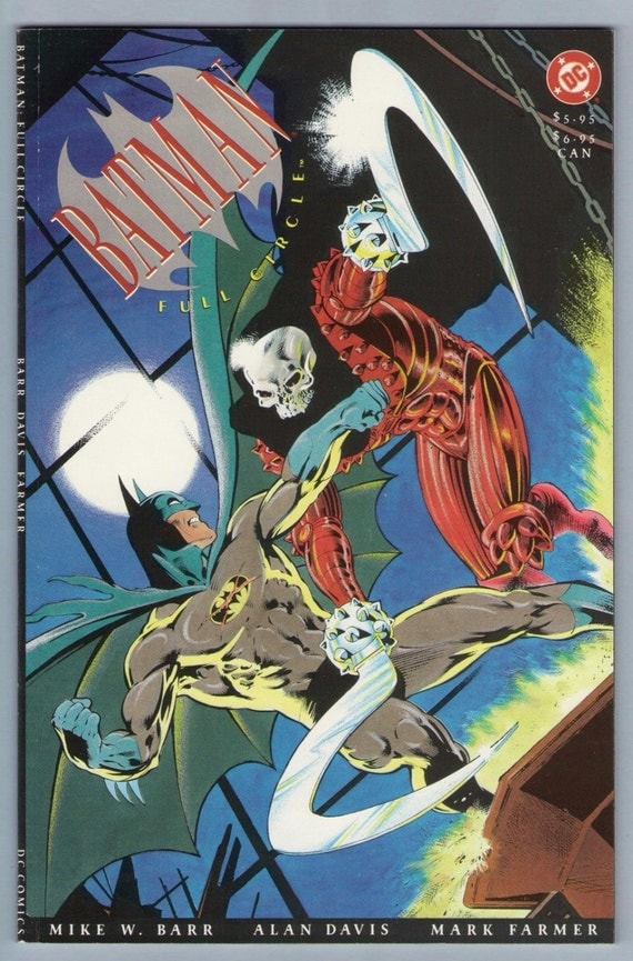 Batman - Full Circle 1991 NM- (1991)