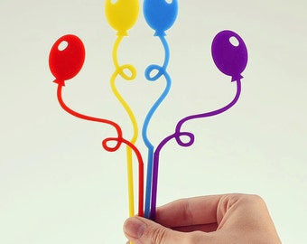 Balloon Cake Topper ( number not included)