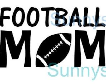 Football Mom decals
