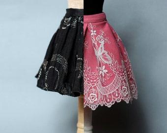 BJD Embroidery Skirt for MSD, various models.