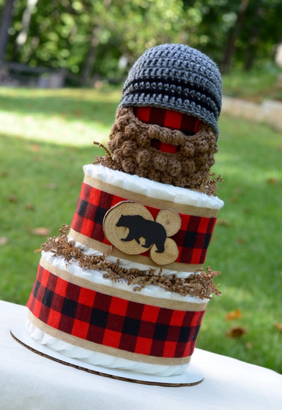 Red And Black Plaid Cake
