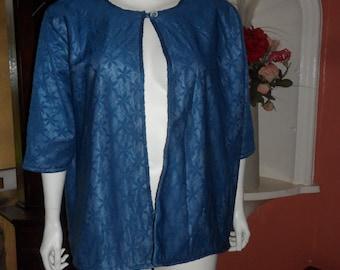 Plus Size Fleece Lined Bed Jacket Size 26/28