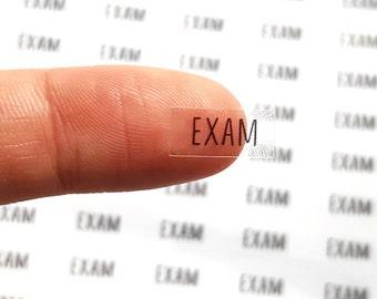 60 Exam Stickers, Exam Planner Stickers, Header Stickers, ECLP Stickers, Day Designer Stickers, Bullet Planner Stickers | C103