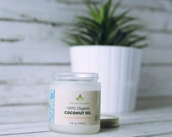 Virgin Organic Coconut oil for hair and skin * Premium Quality