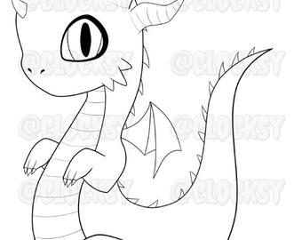 Chibi Baby Dragon