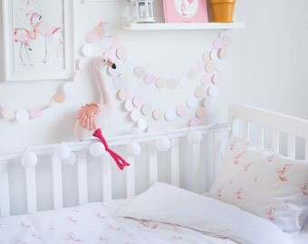 Flamingo Bedding - Baby Bedding Crib Bedding Set Nursery Bedding