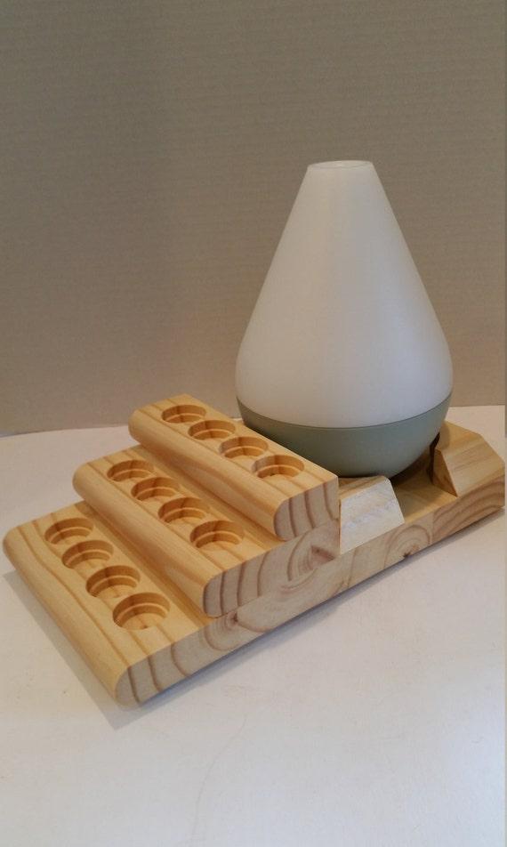 New Essential Oil Stand And Diffuser Display Starter Stair Holds Both Young Living And
