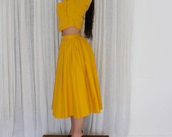 Lemonade / all High Court & full skirt / Vintage / 80