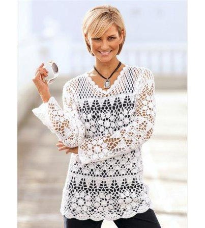 crochet tunic patterncrochet motifs patterncrochet lace
