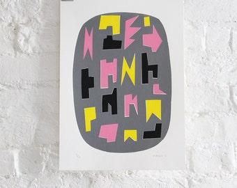 Art screen print