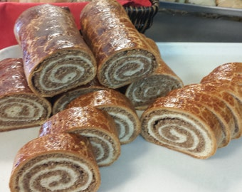 Authentic Hungarian Walnut Roll Walnut Strudel aka Beigli Traditional Recipe Made From Scratch