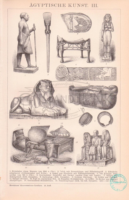 antike ägyptische druck ägyptischer artefakte alten Ägypten, Badezimmer ideen