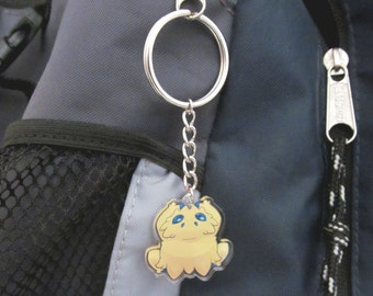 Joltik Pokemon Clear Acrylic Keychain, Clip, or Phone Charm