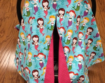 Mermaid  Car Seat Canopy