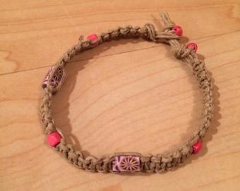 CUSTOM Hemp Bracelet