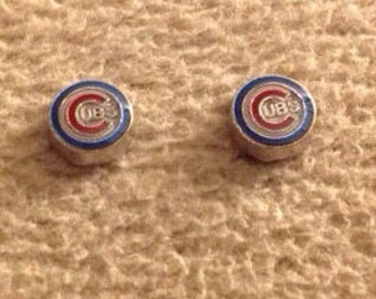 Chicago Cubs Stud Earrings - T1