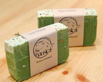 Tonifying soap
