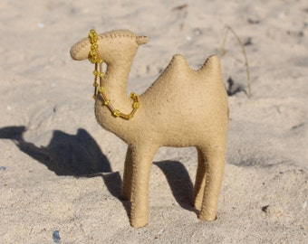 Camel //Waldorf toy //Stuffed animal //Waldorf Camel //Stuffed Camel //African Animal