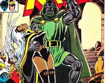 Xmen 145, Dr Doom, Storm, X-men comic book. Wolverine, Charles Xavier, Nightcrawler. Uncanny 1981 Marvel Comics in VFNM (9.0)