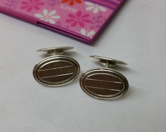 800 silver of cufflinks cuff links old MS119