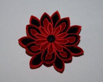School/party handmade Girl's/Ladies hair clip, KANZASHI